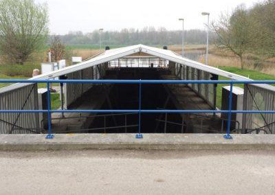 8 meter aluminium hal
