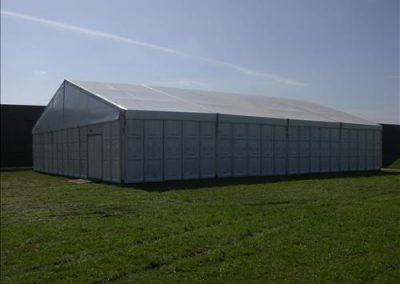 15 meter aluminium hal
