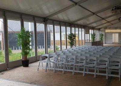 Een goede tent voor uw open huis presentatie